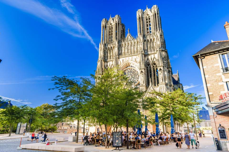 City Centre and Reims Cathedral